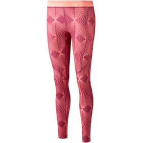 Mizuno Impulse Printed - Pantalon running Femme - rouge